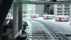 Kaymaklı Yoğurt – Dezenfekte Sistemli Yüksek Kapasiteli Kapak Kapama Makinası